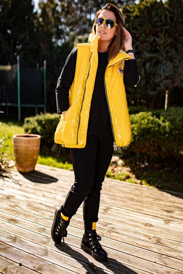 kamizelka 1448 żółty+czarny (2)