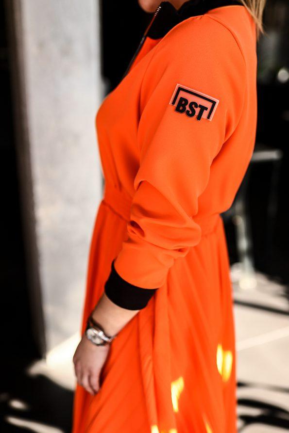 sukienka 1502 pomarańczowy (2)