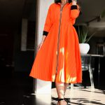 sukienka 1502 pomarańczowy (4)